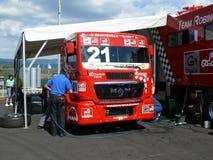 Truck races Stock Image