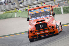 Truck racing Royalty Free Stock Images