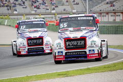 Truck Racing - Adam Lacko Royalty Free Stock Photography