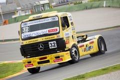 Truck Racing - Alberto Vila Stock Image