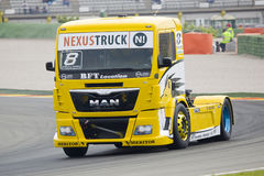 Truck Racing - Anthony Janiec Stock Images