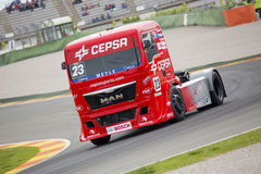Truck Racing - Antonio Albacete Royalty Free Stock Images