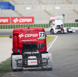 Truck Racing - Antonio Albacete Stock Photography