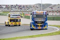 Truck Racing - Eduardo Rodrigues Stock Photography