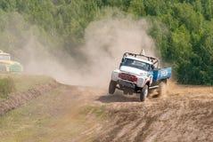 Truck racing Stock Image