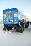 Truck for rally-raid team KAMAZ MASTER Royalty Free Stock Image