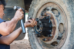 Truck Repair royalty free stock image