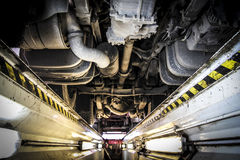 Free Truck Repair Workshop Inspection Trench Stock Images - 27286374
