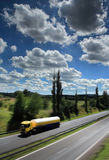 Truck on the road Royalty Free Stock Photography