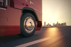 Truck on the road. Royalty Free Stock Photos