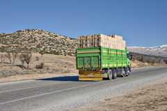 Truck on Road Stock Image