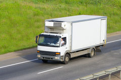 The truck on a road Royalty Free Stock Photography