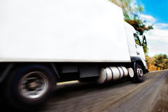 Truck and road Royalty Free Stock Images