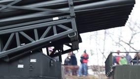 Truck Rockets Launcher stock video