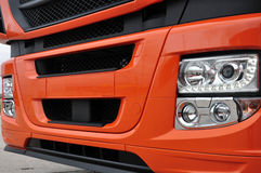 Truck's bumpers. A close shot of a truck's bumpers Stock Image