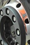 Truck's wheel rim Stock Photography
