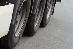 Truck's wheels Stock Photos