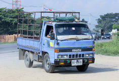 Truck of Saha Thip Thong Transport company. Royalty Free Stock Photo