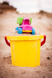 Truck in the sands Royalty Free Stock Photography