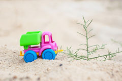 Truck in the sands Royalty Free Stock Images