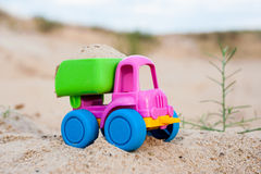 Truck in the sands Royalty Free Stock Image