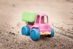 Truck in the sands Stock Photography