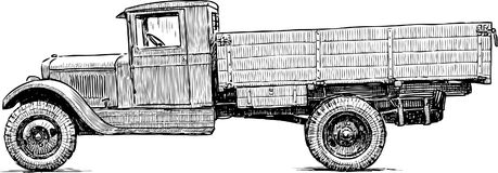 Truck of the Second World War Royalty Free Stock Photo