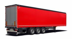 Truck semi-trailer Royalty Free Stock Image