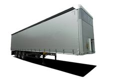 Truck semi trailer Stock Images