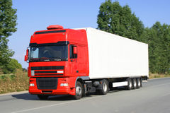 Truck semitrailer Stock Photos