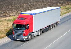 Truck semitrailer Royalty Free Stock Photos