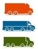 Truck set royalty free illustration