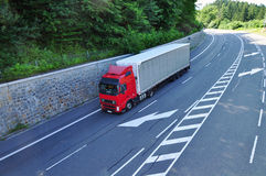 Truck shipment Stock Images