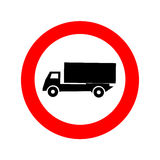 Truck sign icon great for any use. Vector EPS10. Stock Photo