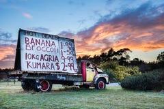 Truck Signage Stock Image