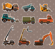 Truck stickers Stock Photos