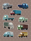 Truck stickers Royalty Free Stock Image