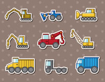 Truck stickers Royalty Free Stock Photos