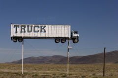 Truck on Stilts Royalty Free Stock Images