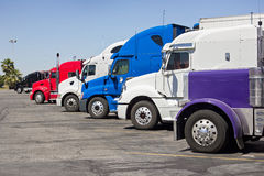 Truck Stop Royalty Free Stock Image