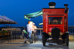 Truck of street food Royalty Free Stock Image