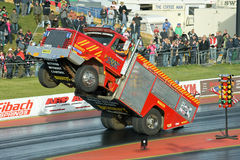 Truck stunt Royalty Free Stock Images