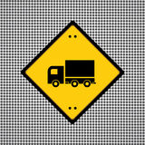 Truck symbol Royalty Free Stock Images