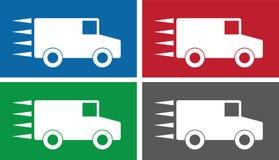 Truck Symbols Royalty Free Stock Photos