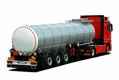 Truck tank Royalty Free Stock Photography