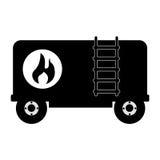 Truck tank oil icon. Vector illustration design Stock Photography