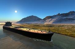Truck tanker Stock Image