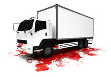 Truck Terrorist  attack Royalty Free Stock Images