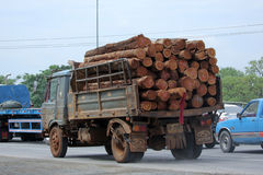 Truck of Thailand Forest Industry Organization Royalty Free Stock Image