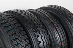 Truck Tire. Royalty Free Stock Photos